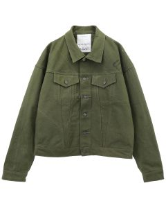[お問い合わせ商品] READYMADE OVERSIZE WORK JACKET / KHAKI
