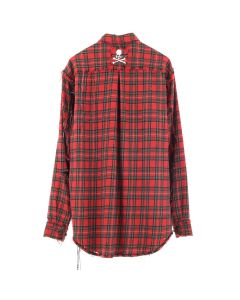 MASTERMIND WORLD CHECK SHIRT 5 / RED