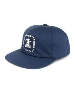 RHUDE US RHUDE DESIGN CAP / BLUE