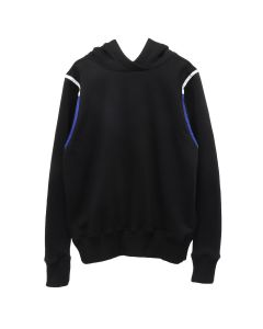 RUE-L BED TIME HOODIE / BLACK