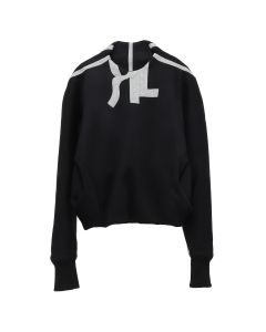 RUE-L KUBO TRACKSUIT SWEATER / BLACK-GREY