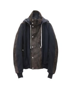 [お問い合わせ商品] Rick Owens RU JK/DUSTULATOR JKT / 904 : BLACK-BROWN