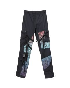 Rogic GRADATION NYLON BONDAGE PANTS / BLACK-BLUE GRADATION