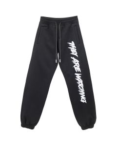 000 THEY ARE WATCHING SWEATPANTS / BLACK