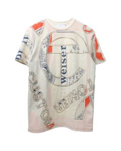 TELFAR CUT-IN S/S TOUR TEE / WHITE
