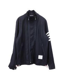 [お問い合わせ商品] THOM BROWNE. DOUBLE ZIP RAGLAN JACKET / 415