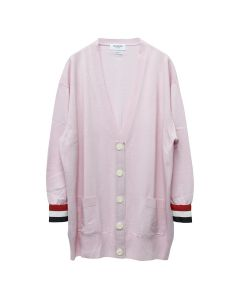 [お問い合わせ商品] THOM BROWNE. OVERSIZED V NECK CARDIGAN / 680