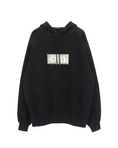 3.PARADIS MARIA HOODIE / BLACK w/RED STICHING