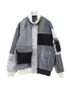 D.TT.K MIXED FLIGHT JKT / GRAY MULTI