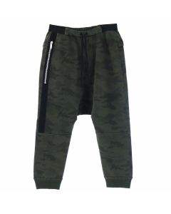 BEN TAVERNITI UNRAVEL PROJECT TERRY BRUSHED DROP CROTCH / ALL OVER NO COLOR