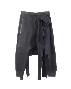 BEN TAVERNITI UNRAVEL PROJECT TERRY TEE SKIRT TEAM SWPANT / BLK NO COLOR