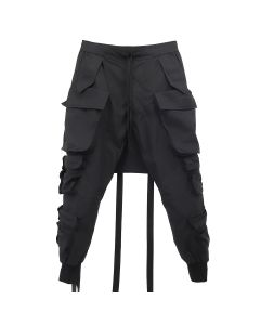 BEN TAVERNITI UNRAVEL PROJECT TECH COTTON CARGO PANTS / 1000 : BLACK NO COLOR