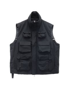 BEN TAVERNITI UNRAVEL PROJECT TELA POCKET VEST / 1000 : BLACK NO COLOR