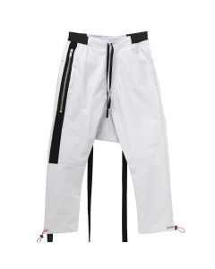 BEN TAVERNITI UNRAVEL PROJECT TELA DROP CROTCH PANTS / 0800 : MEDIUM GREY NO COLOR