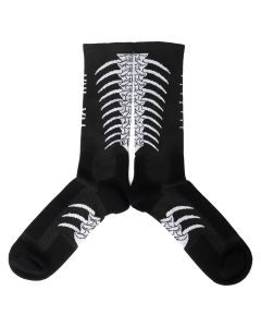 BEN TAVERNITI UNRAVEL PROJECT BACK BONE MID HIGH SOCKS / 1001 : BLACK WHITE