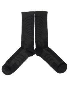 BEN TAVERNITI UNRAVEL PROJECT BACK BONE MID HIGH SOCKS / 1010 : BLACK BLACK