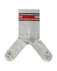 BEN TAVERNITI UNRAVEL PROJECT UNRVL SPORT MIDHIGH SOCKS / 0820 : MEDIUM GREY