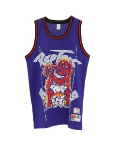 WARREN LOTAS WL ATHLETICS RAPTORS JERSEY / PURPLE