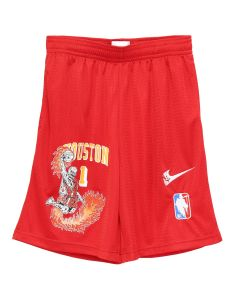 WARREN LOTAS WL ATHLETICS ROCKETS SHORTS / RED-YELLOW
