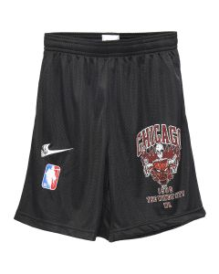 WARREN LOTAS WL ATHLETICS BULLS SHORTS / BLACK-RED