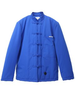 Xander Zhou CHINESE KNOTTING DETAILS JACKET / BLUE