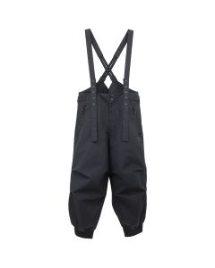 Y-3 M NYLON SUSPENDER PANTS / BLACK