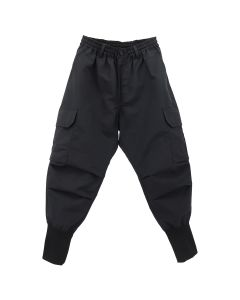 Y-3 M NYLON CARGO PANTS / BLACK