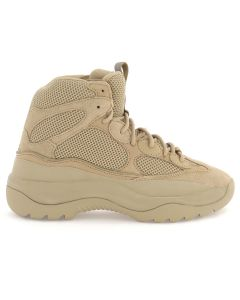 3a0b016406c YEEZY SEASON 6 TAUPE THICK SUEDE MESH AND NUBUCK DESERT BOOT   TAUPE